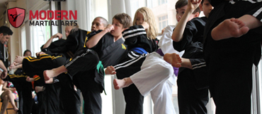 Sidekicks at Modern Martial Arts NYC